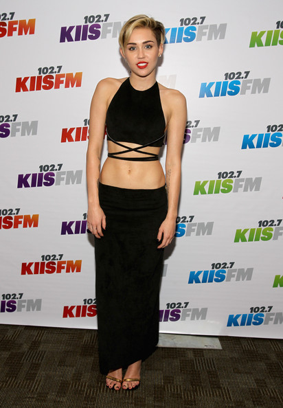 Miley Cyrus - KIIS FM's Jingle Ball 2013 Presented By T-Mobile In Partnership With Samsung - Backstage