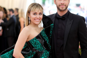 Miley Cyrus Liam Hemsworth The 2019 Met Gala Celebrating Camp: Notes On Fashion - Arrivals