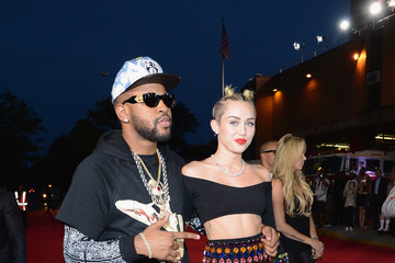 Miley Cyrus Mike WiLL Made It Arrivals at the MTV Video Music Awards — Part 5
