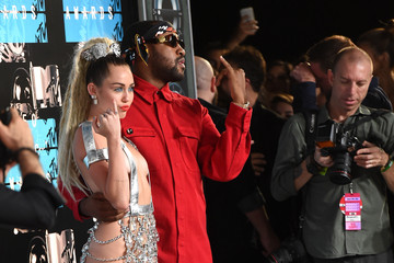 Miley Cyrus Mike WiLL Made It 2015 MTV Video Music Awards - Arrivals
