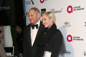 Miley Cyrus Arrivals at the Elton John AIDS Foundation Oscars Viewing Party — Part 4