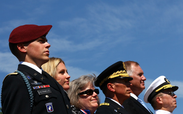 U.S. Military Holds Tribute And Retirement Ceremony For David Petraeus