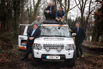 Ranulph Fiennes The Millionth Land Rover Discovery Is Made