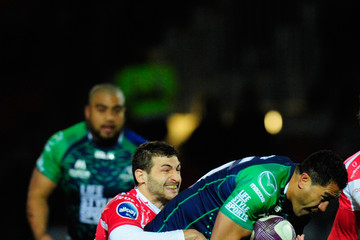 Mils Muliaina Gloucester Rugby v Connacht Rugby - European Rugby Challenge Cup: Quarter Final