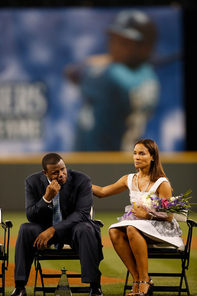 Melissa Griffey in Milwaukee Brewers v Seattle Mariners ...