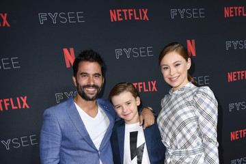 Mina Sundwall Maxwell Jenkins Netflix FYSee Kick Off Party - Red Carpet