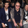 Mindy Cohn Mark And Estel - Front Row - Mercedes-Benz Fashion Week Fall 2015