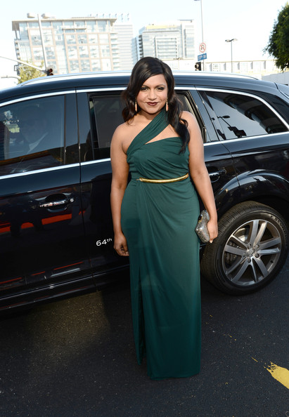 Mindy Kaling - Audi Arrivals At The 64th Primetime Emmy Awards