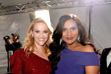 Mindy Kaling Reese Witherspoon Premiere Of Disney's 'A Wrinkle In Time' - Red Carpet