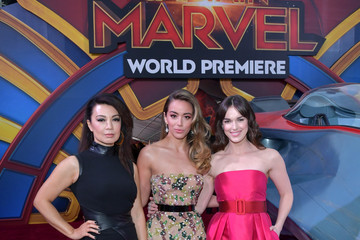 Ming-Na Wen Marvel Studios 'Captain Marvel' Premiere - Red Carpet