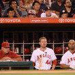 Albert Pujols Mark Trumbo Photos