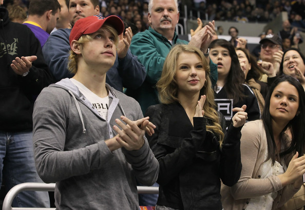 Taylor+Swift in Minnesota Wild v Los Angeles Kings