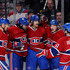 Andrei Markov Brendan Gallagher Photos - Max Pacioretty #67 of the Montreal Canadiens celebrates with teammates the second goal of his hat trick during the game against the Minnesota Wild goals during the NHL game at the Bell Centre on November 19, 2013 in Montreal, Quebec, Canada - Minnesota Wild v Montreal Canadiens