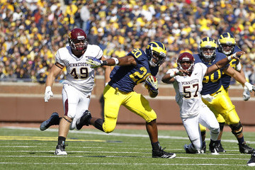 Michael Shaw Minnesota v Michigan