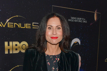 "Minnie Driver Premiere Of HBO's ""Avenue 5"" - Red Carpet"