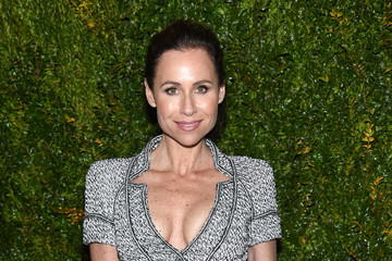 Minnie Driver Chanel Dinner - Arrivals - 2015 Tribeca Film Festival