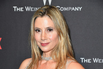 Mira Sorvino 2017 Weinstein Company and Netflix Golden Globes After Party - Arrivals