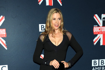 Mira Sorvino 'Doctor Who' Premieres in NYC