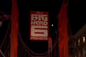 "Mira Sorvino Premiere Of Disney's ""Big Hero 6"" - Red Carpet"