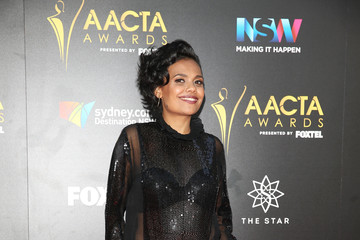 Miranda Tapsell 6th AACTA Awards Presented by Foxtel | Red Carpet Arrivals