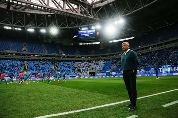 Mircea Lucescu FC Zenit Saint Petersburg vs FC Ural Ekaterinburg - Russian Premier League