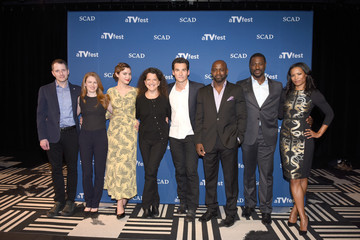 Mireille Enos SCAD Presents aTVfest  2016 - 'How To Get Away With Murder'