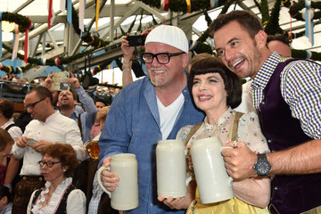 Mireille Mathieu Celebrities Hang out at Oktoberfest 2015 - Day 1