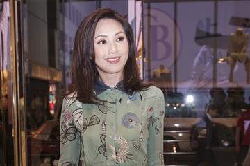 Miriam Yeung Gucci Celebrates Flora Knight Collection Cocktail Reception