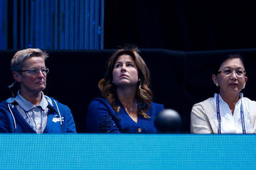 Mirka Federer Barclays ATP World Tour Finals - Day Five