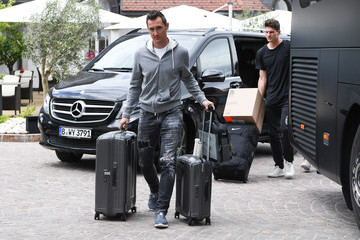 Miroslav Klose Germany - Southern Tyrol Training Camp Day 1