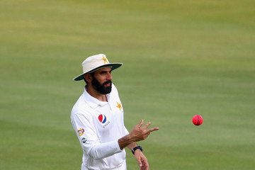 Misbah-ul-Haq Pakistan v West Indies - 1st Test: Day Five