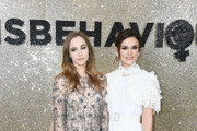 """(L-R) Suki Waterhouse and Keira Knightley attend the """"Misbehaviour"""" World Premiere at The Ham Yard Hotel on March 09, 2020 in London, England."""
