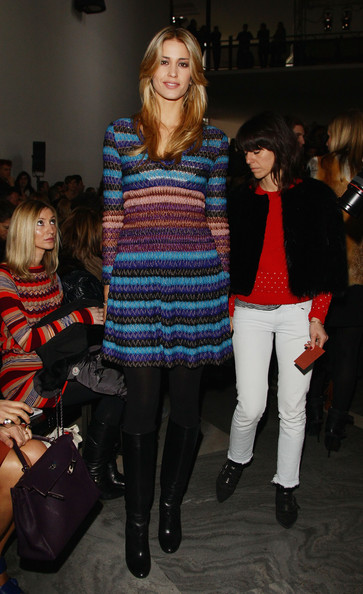 Missoni - Backstage & Front Row: Milan Fashion Week Womenswear Autumn/Winter 2011