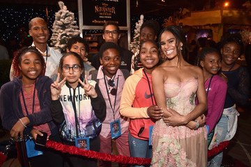 Misty Copeland Stars Of Disney's 'The Nutcracker And The Four Realms' Attend The World Premiere At Hollywood's El Capitan Theatre
