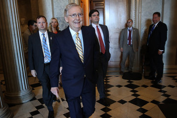 Mitch McConnell Mitch McConnell Works to Muster Votes to Proceed With GOP Health Care Bill