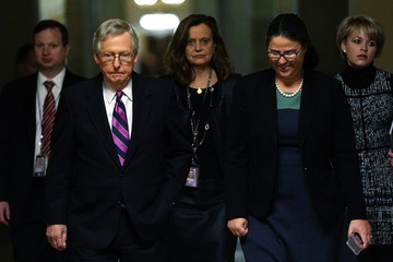 Mitch McConnell Senate Votes on Stopgap Government Funding Agreement