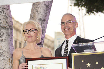 Mitch O'Farrell Gillian Anderson Honored With Star on the Hollywood Walk of Fame