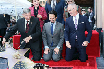 Mitch O'Farrell Lin-Manuel Miranda Honored With Star On The Hollywood Walk Of Fame