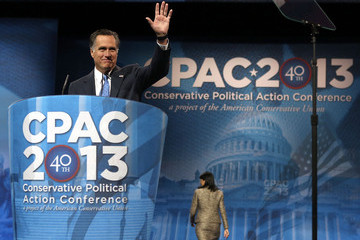 Mitt Romney Leading Conservatives Attend 40th Annual CPAC