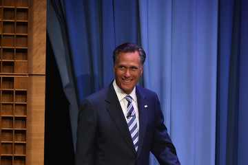 Mitt Romney Mitt Romney Visits 'The Tonight Show Starring Jimmy Fallon'