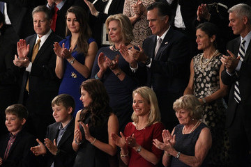 Mitt Romney US House of Representatives Votes to Elect a New Speaker