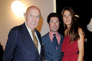 Beppe Modenese, Matteo Marzotto and Veronica Sgaravatti attend the Mittel Moda Fashion Award Exhibit during Milan Fashion Week Womenswear S/S 2011 on September 26, 2010 in Milan, Italy.