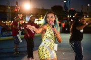 Msss Kamille provides skating lessons to guests during HBO's Mixtapes & Roller Skates at the Blue Cross RiverRink in Philadelphia, Pennsylvania on July 19, 2018 in Philadelphia, Pennsylvania.
