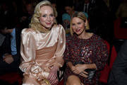 Gwendoline Christie and Naomi Watts attend MoMA's Twelfth Annual Film Benefit Presented By CHANEL Honoring Laura Dern on November 12, 2019 in New York City.