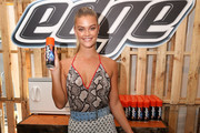 Model Nina Agdal Teams Up With Edge Shave Gel at the 2017 Sports Illustrated Swimsuit Vibes Festival in Houston