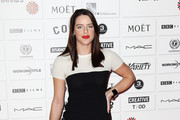 (UK TABLOID NEWSPAPERS OUT) Michelle Ryan attends The Moet British Independent Film Awards 2011 at Old Billingsgate Market on December 4, 2011 in London, United Kingdom.