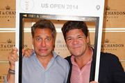 Thom Filicia and Greg Calejo attend the The Moet & Chandon Suite at the 2014 US Open at USTA Billie Jean King National Tennis Center on September 4, 2014 in New York City.