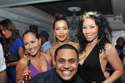 Guests attend Moet Rose Lounge Presents Nas' Life Is Good at Bagatelle on July 16, 2012 in New York City.