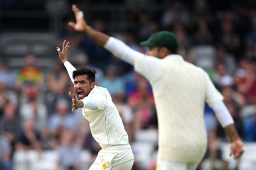 Mohammad Amir England vs. Pakistan: 2nd Test - Day Two