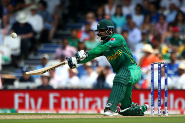 Mohammad Hafeez India v Pakistan - ICC Champions Trophy Final